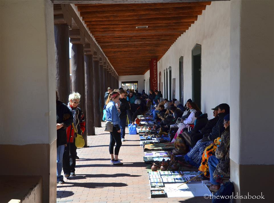 Santa Fe Palace of Governors vendors