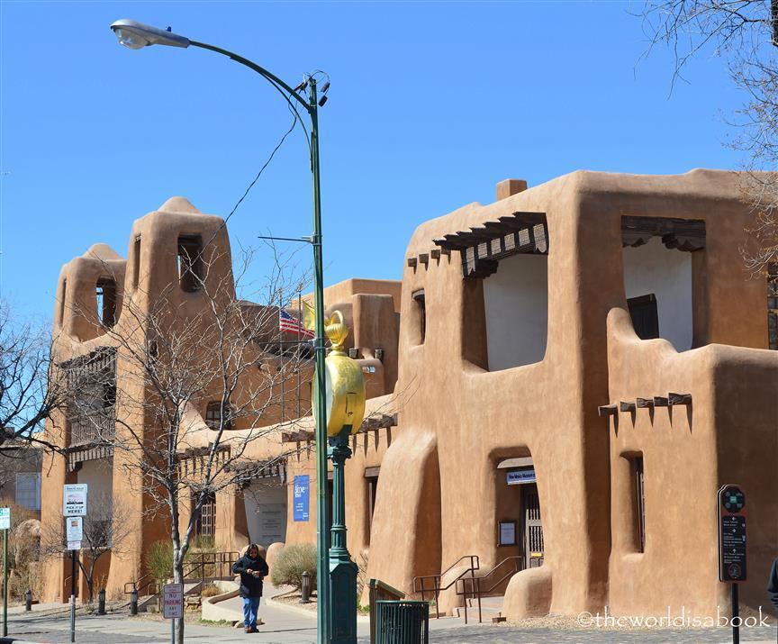 Santa Fe adobe structure