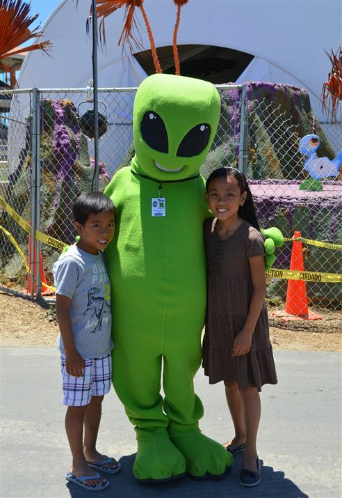 County Fair Alien