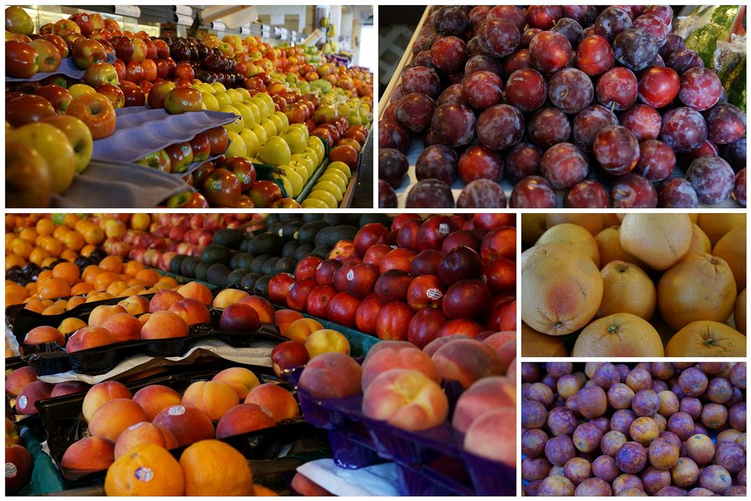 Fairfax market fruits