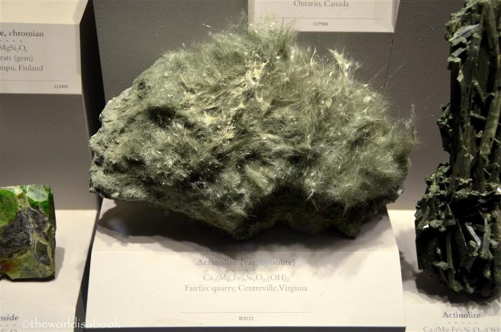 Natural History Actinolite