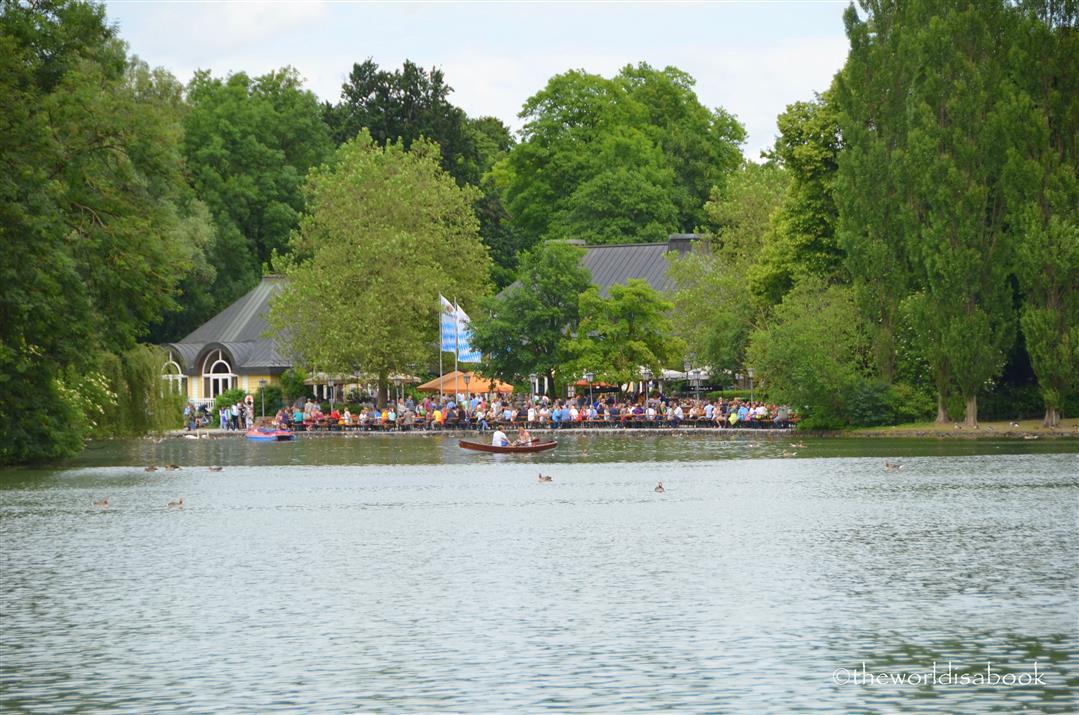 Beer Garden lake