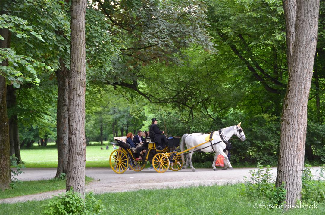 English Garden carriage