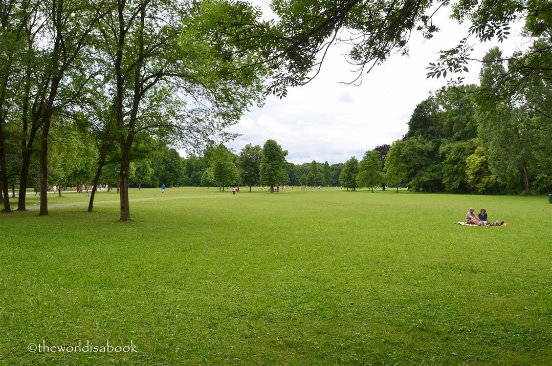 English Garden lawn