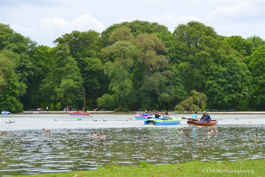 English garden boats