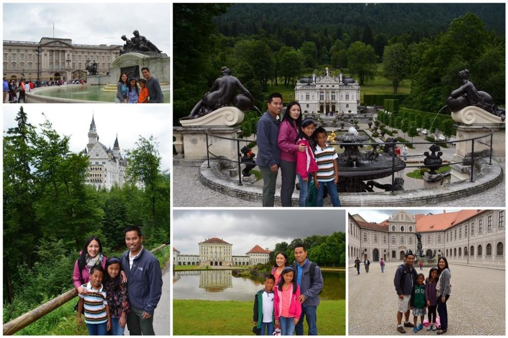 Europe Castles family
