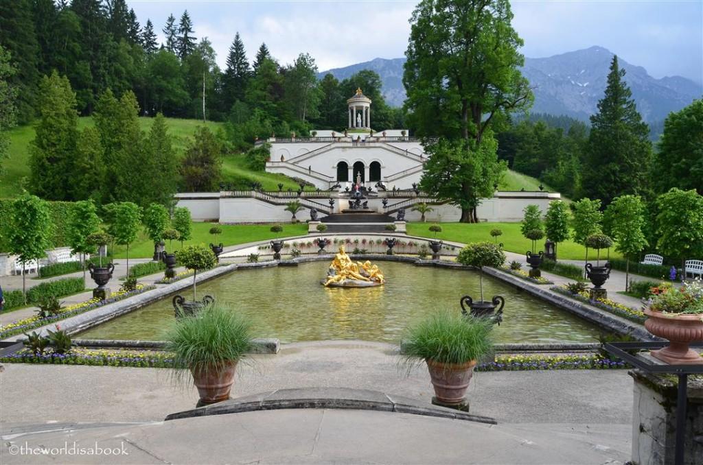 Linderhoff palace gardens