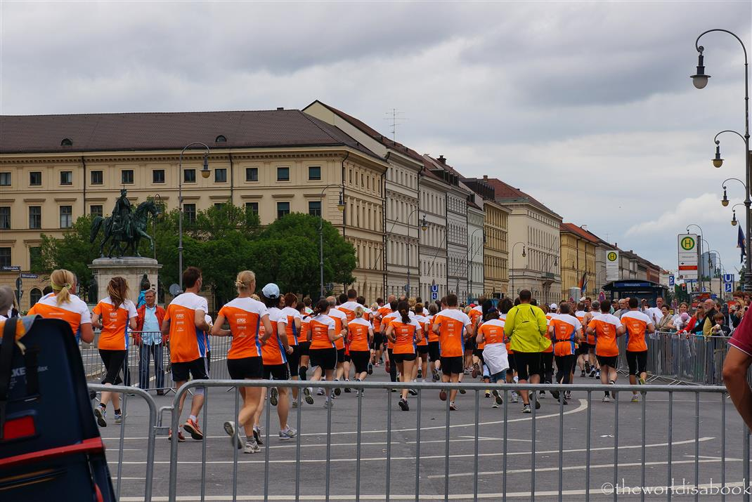 Munich runners