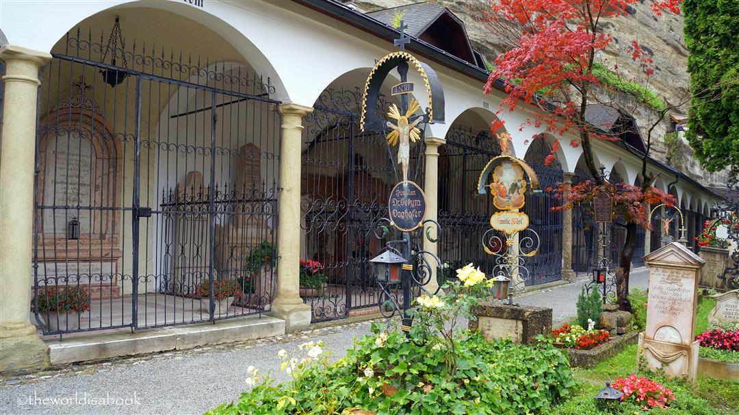 Salzburg St Peter Cemetary