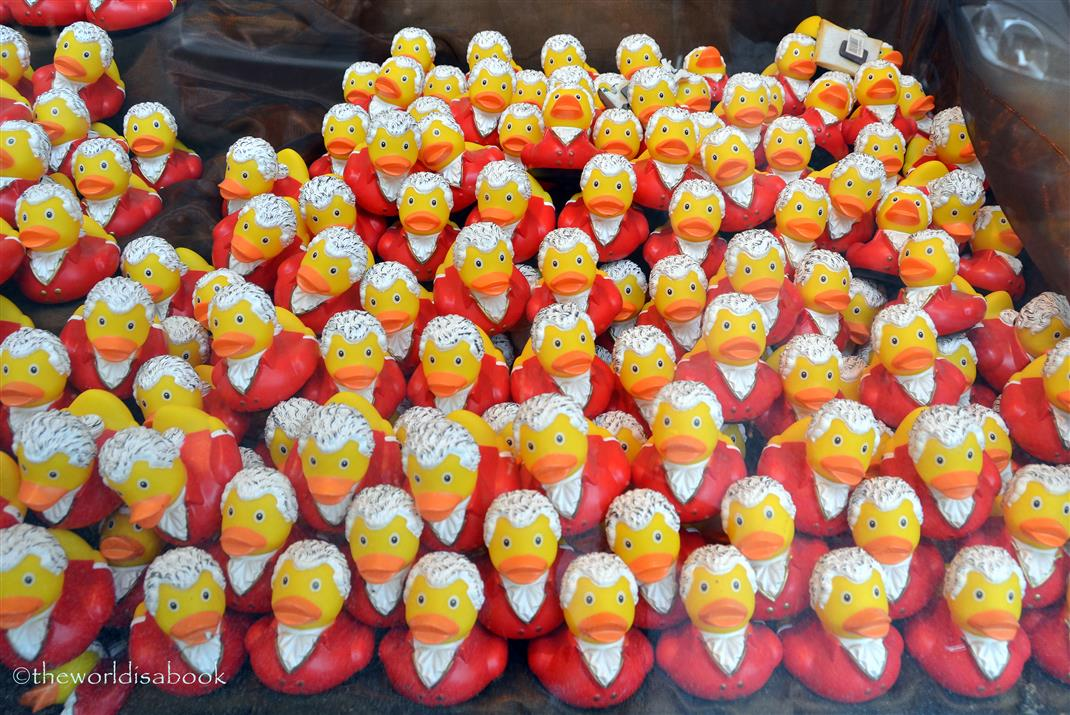 Mozart ducks salzburg