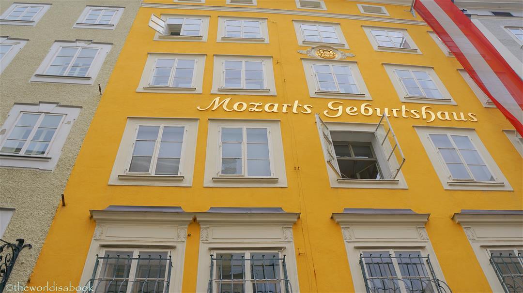 Mozart birth house geburtshaus