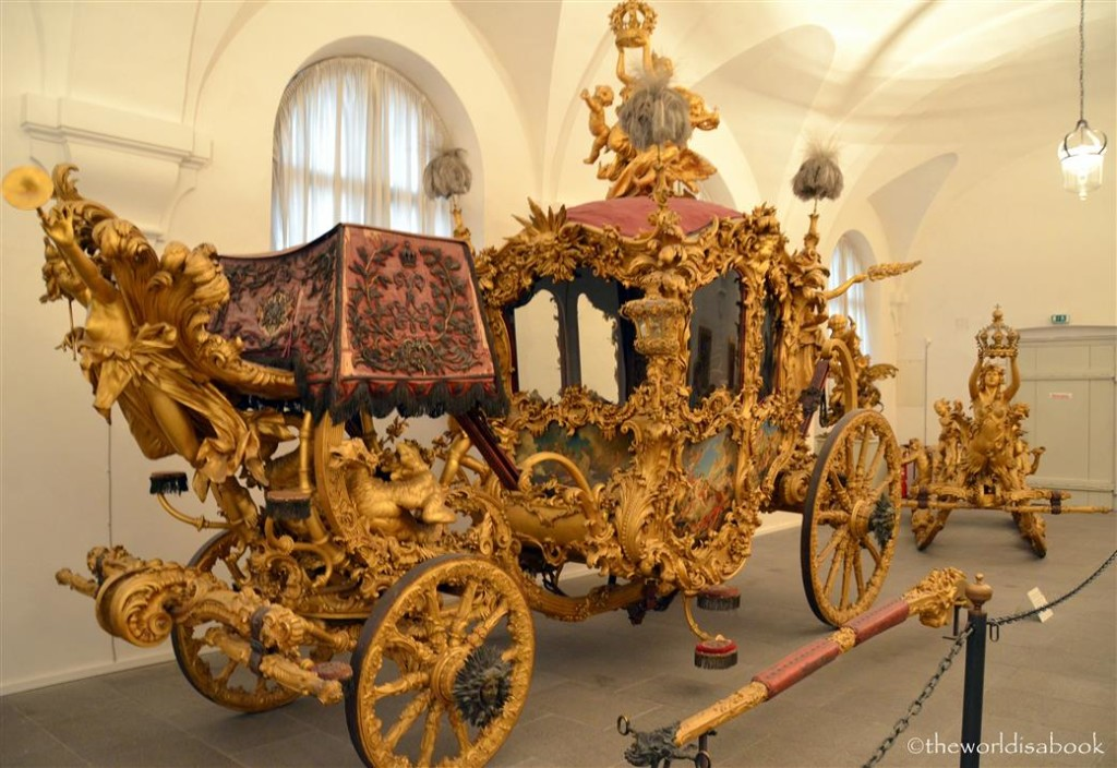 Nymphenburg King Ludwig coronation coach