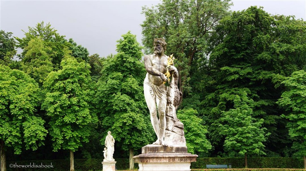 Nymphenburg garden statues