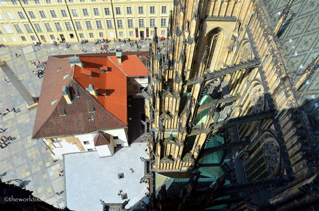 Prague Castle from above