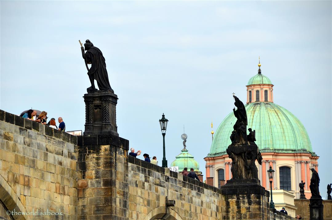Prague Charles Bridge statues