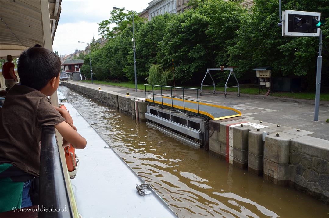 Prague Smíchov Canal