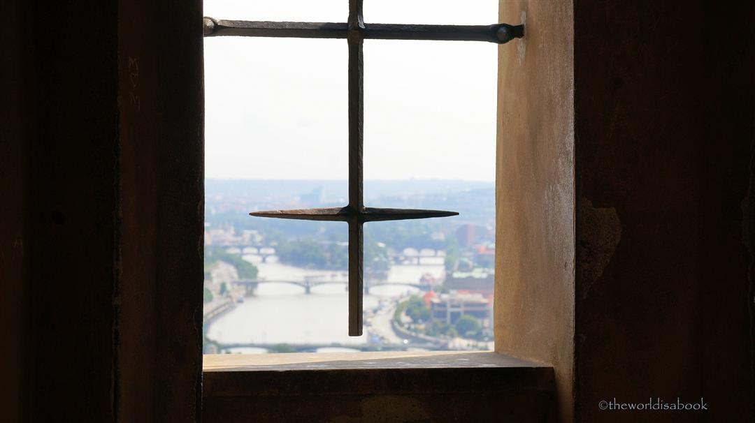 Prague from a window