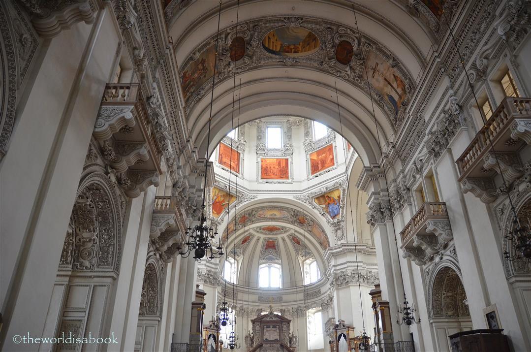 Salzburg Cathedral inside