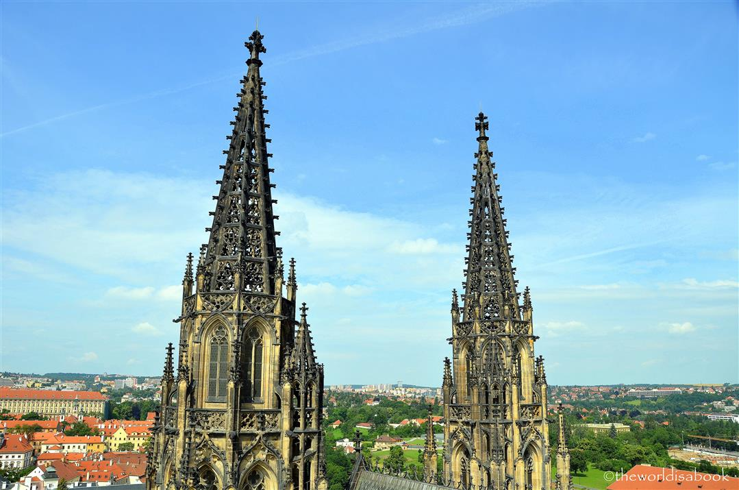 St Vitus Cathedral tower