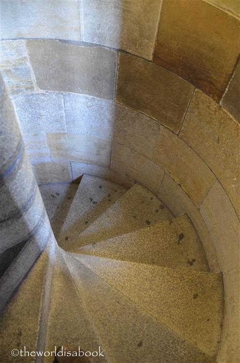 St Vitus cathedral tower staircase
