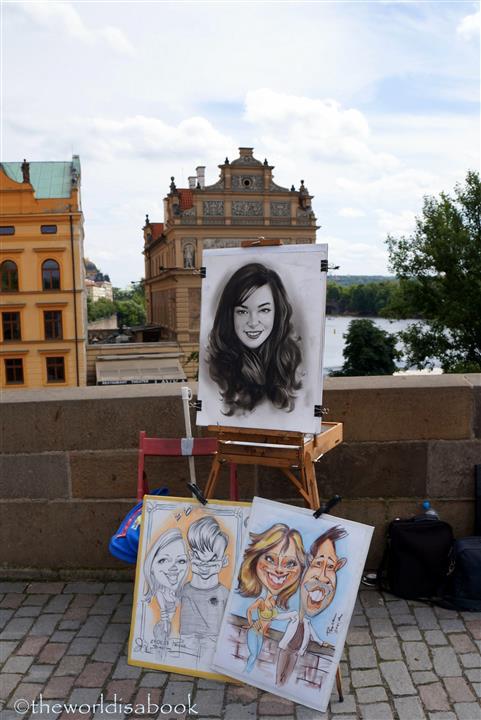 Charles Bridge artist