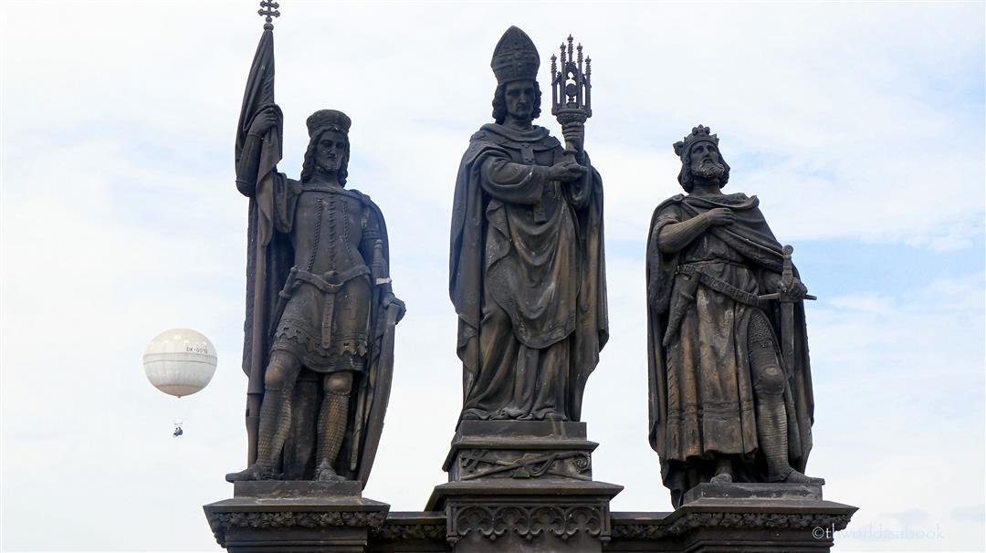 St. Norbert, St. Wenceslas and St. Sigismund prague
