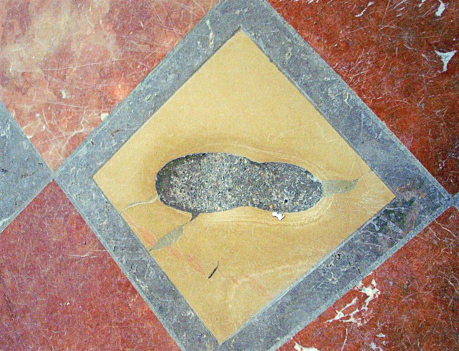 Frauenkirche footprint