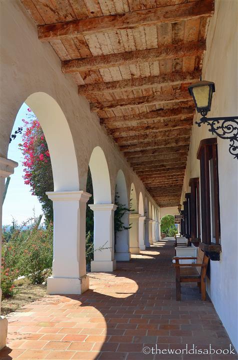 Mission San Luis Rey arches