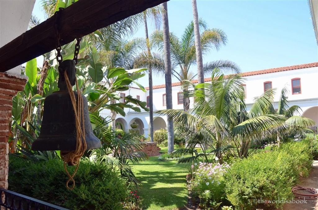 Mission San Luis Rey cloistered garden