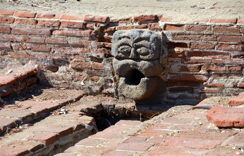 Mission San Luis Rey gargoyle