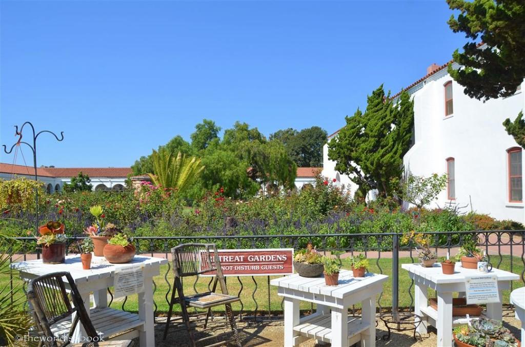 Mission San Luis Rey retreat gardens
