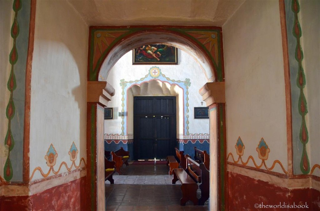Mission San Luis Rey walls