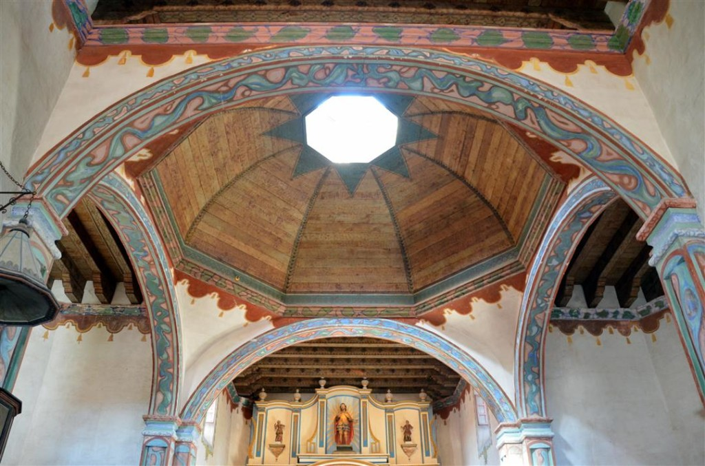 Mission San Luis rey dome
