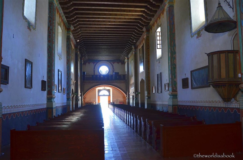 Mission san Luis Rey church