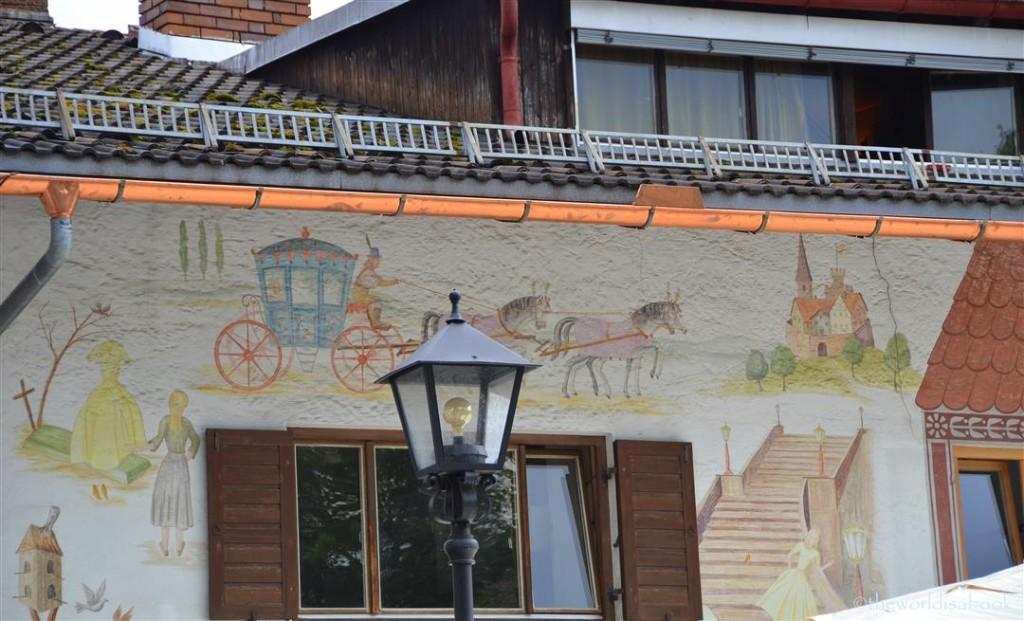 Oberammergau Cinderella fresco
