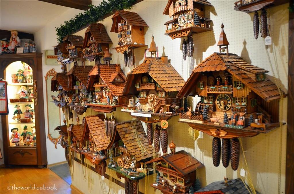 Oberammergau cuckoo clocks