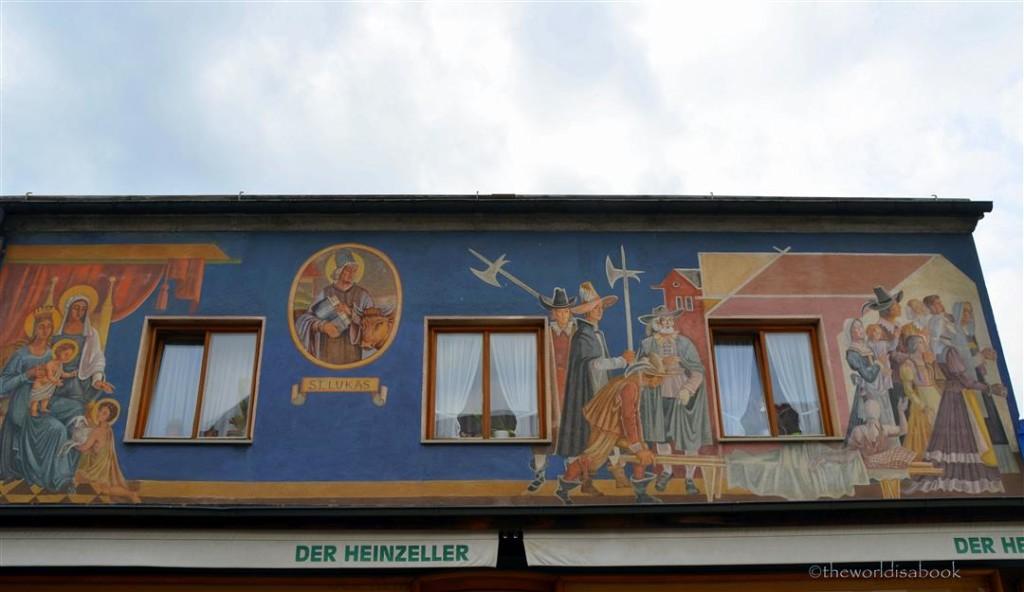 Oberammergau frescoes luftl