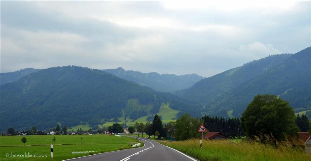 Oberammergau town