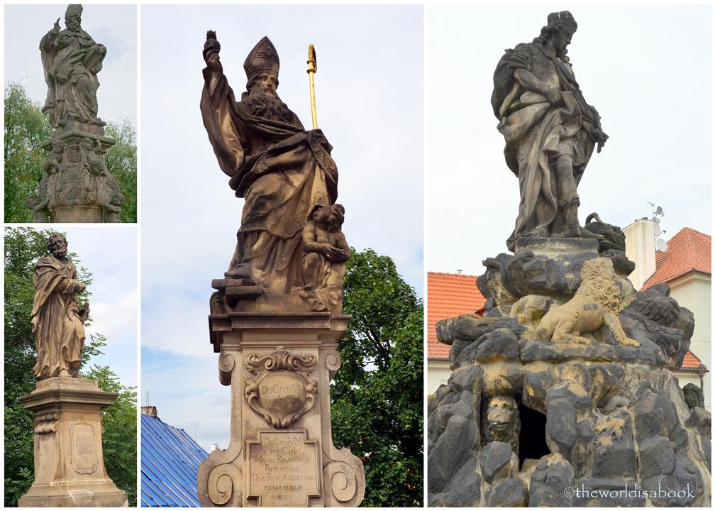 Prague Charles Bridge statues