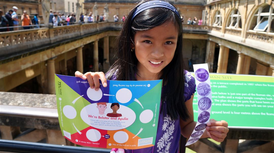 Roman Baths family fun trail