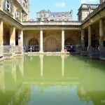 A Step Back In Time at the Roman Baths Bath England