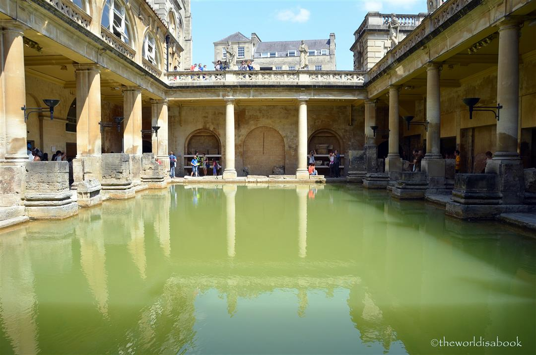 Roman baths Great Bath
