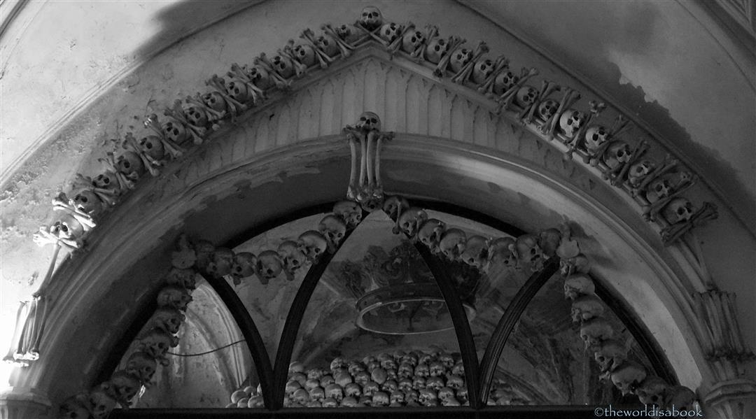 Bone Church decorations