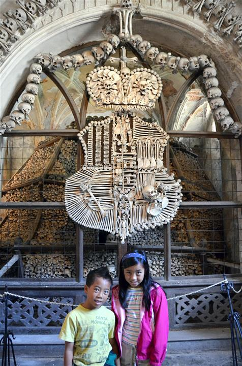 Bone Church with kids