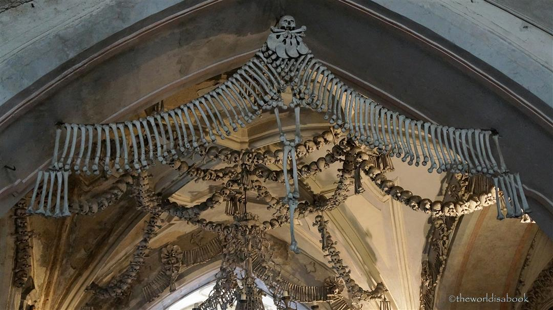 Church of Bones decorations