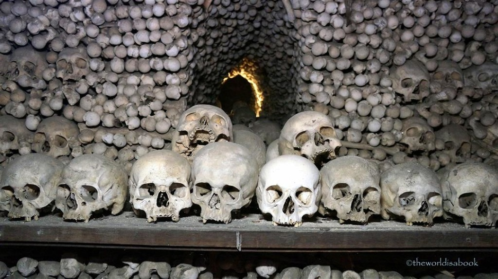 Church of Bones skulls