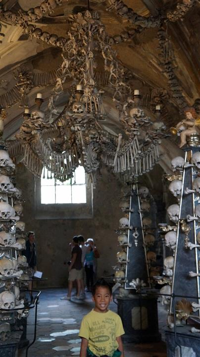 Church of Bones with kids