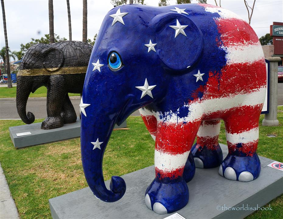 Cycles of Life Americana Elephant