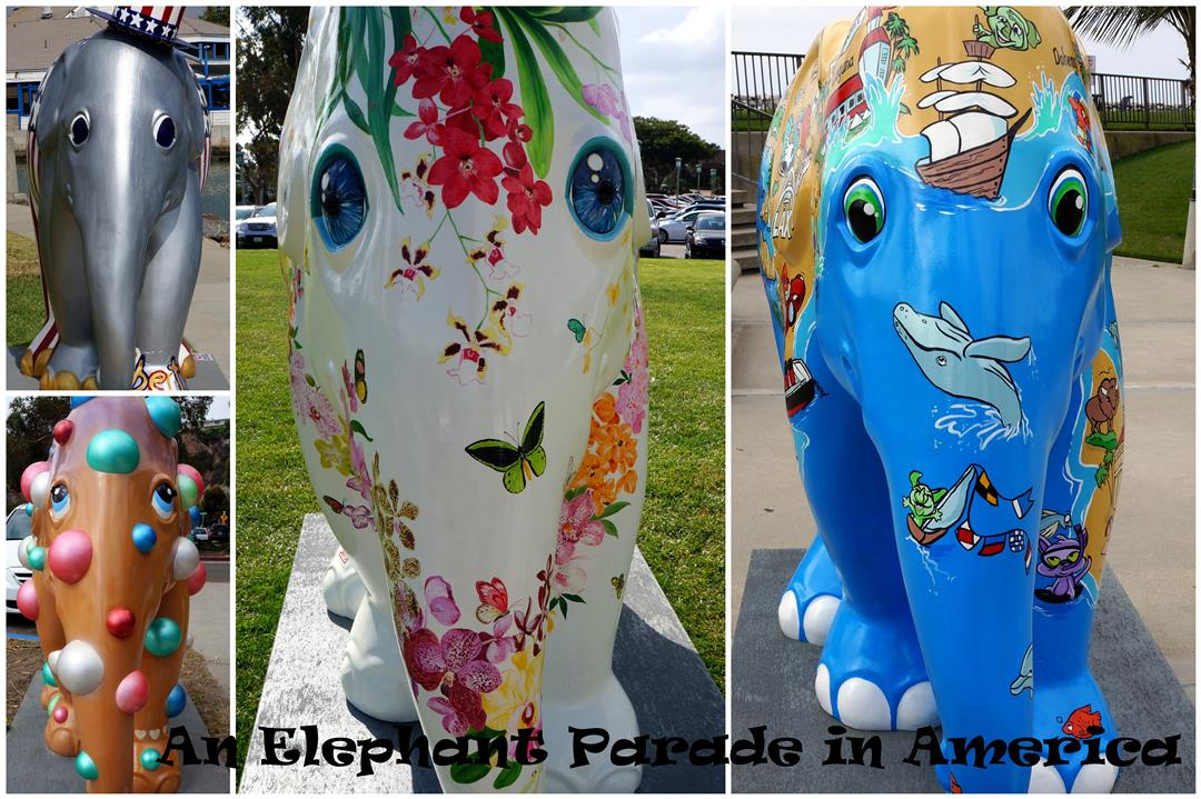 Elephant Parade collage