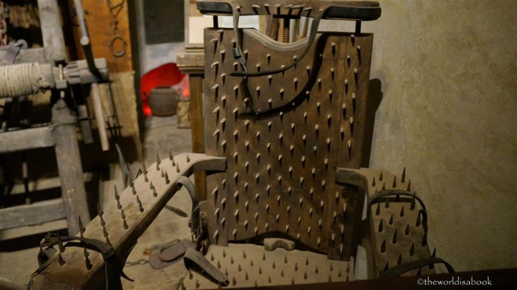 Golden Lane Torture chair